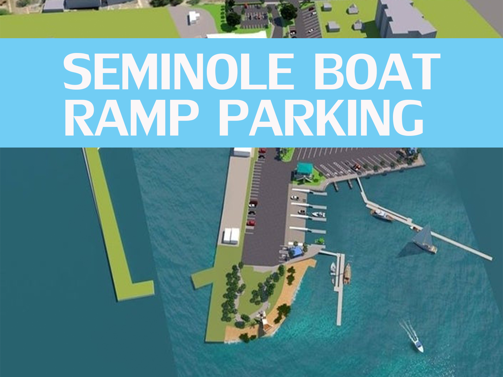 Seminole Boat Ramp, boat parking, park boat, ramp, parking