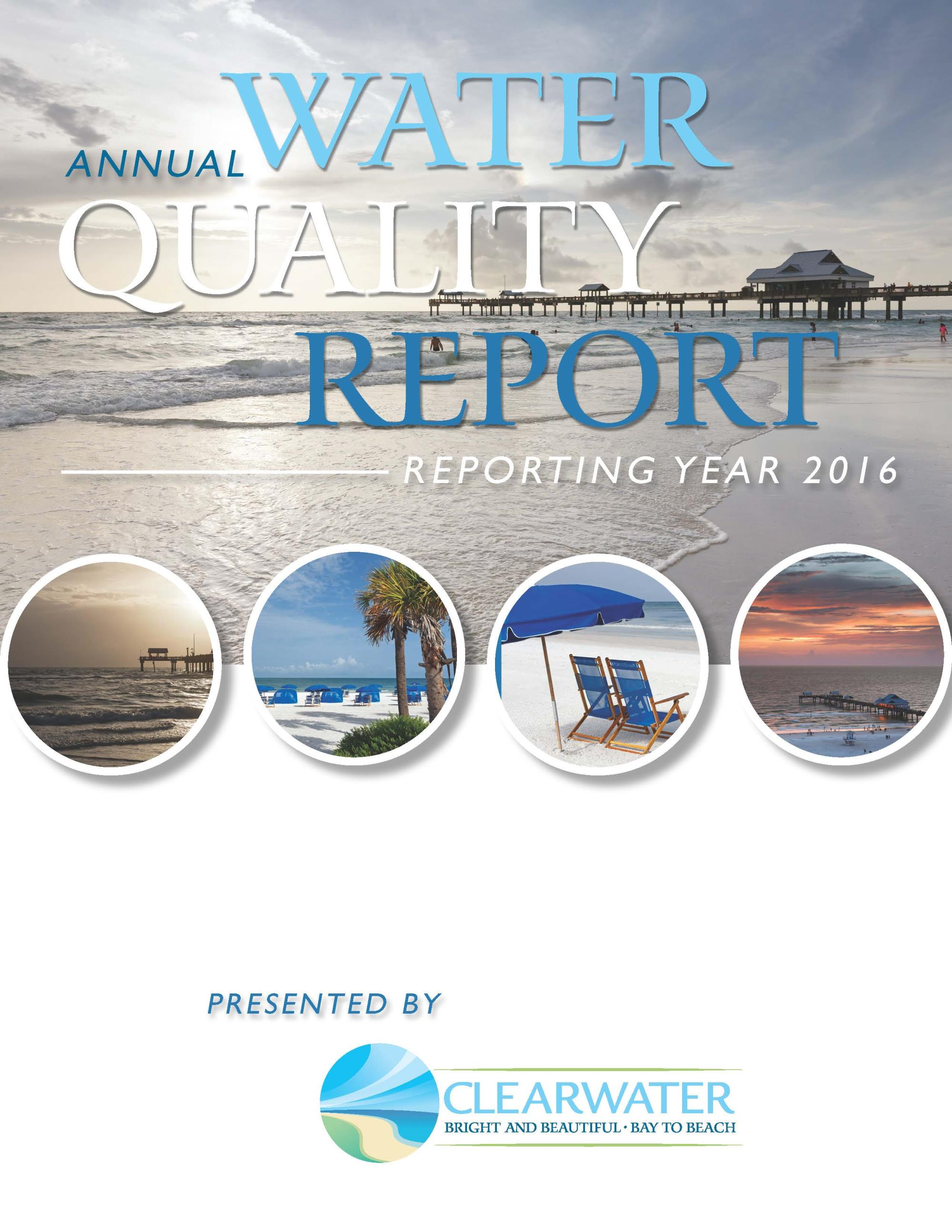Water quality report CCR