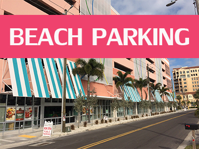 Clearwater Beach Parking, Beach Park, Parking in Clearwater, Where to Park