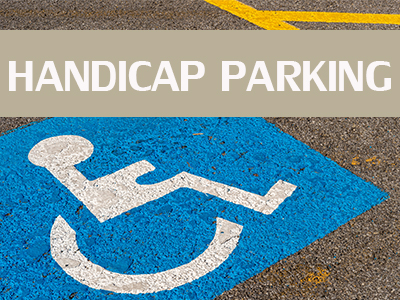Clearwater Handicap Parking, Handicapped Parking, Handicap Clearwater