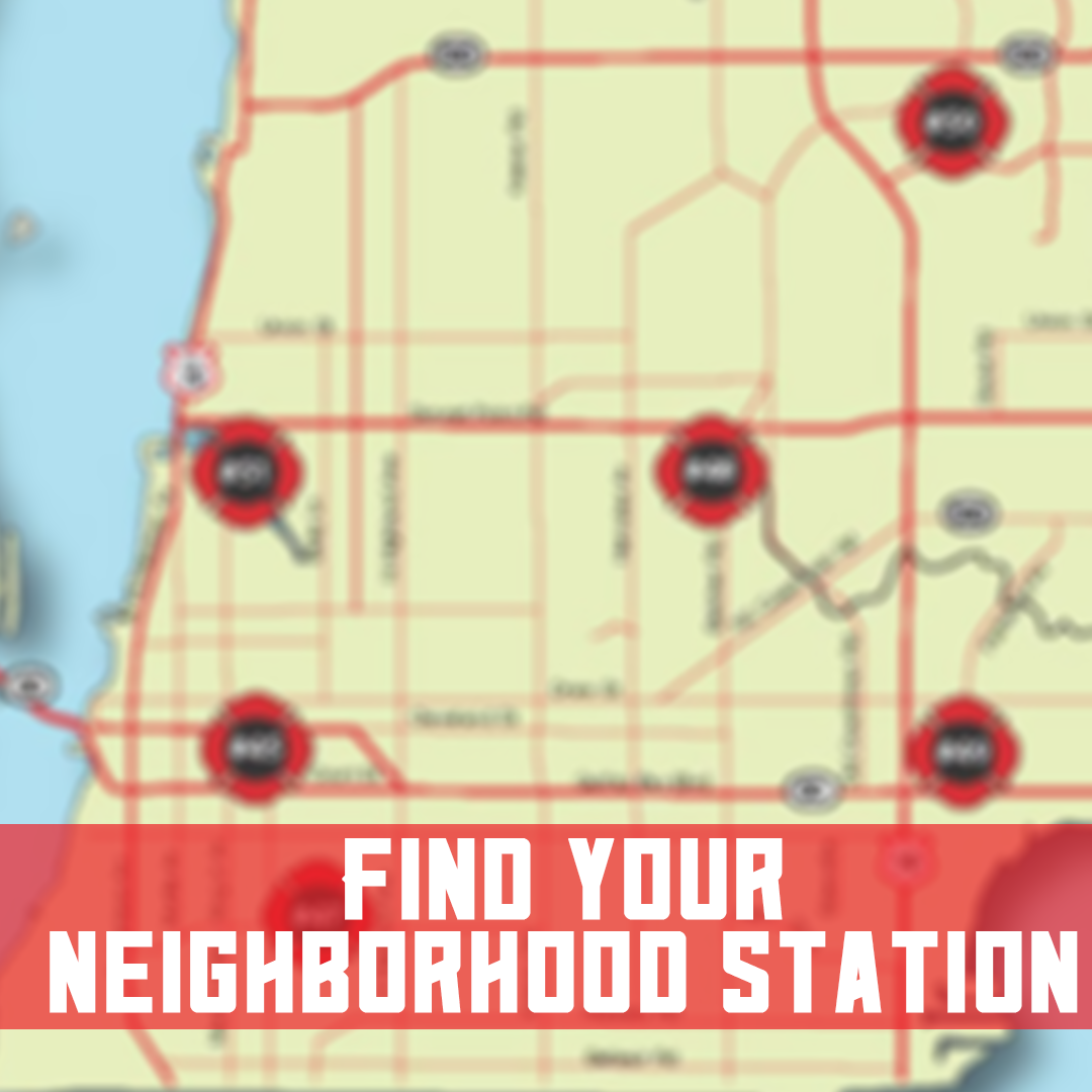 Find Your Neighborhood Station