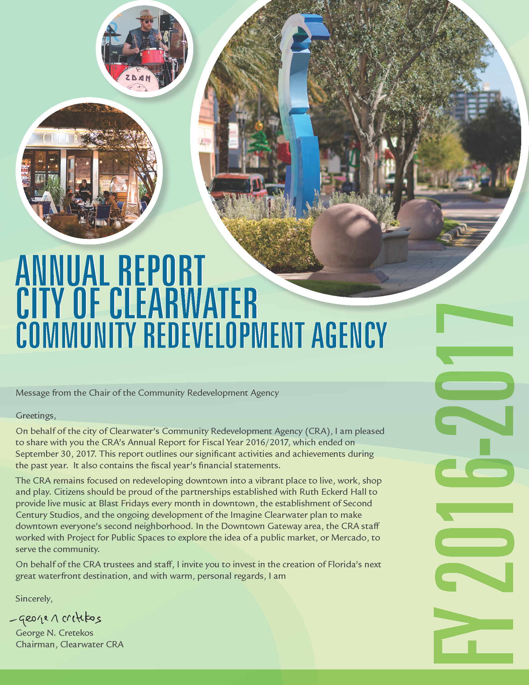 Community Redevelopment Agency Cra City Of Clearwater Fl