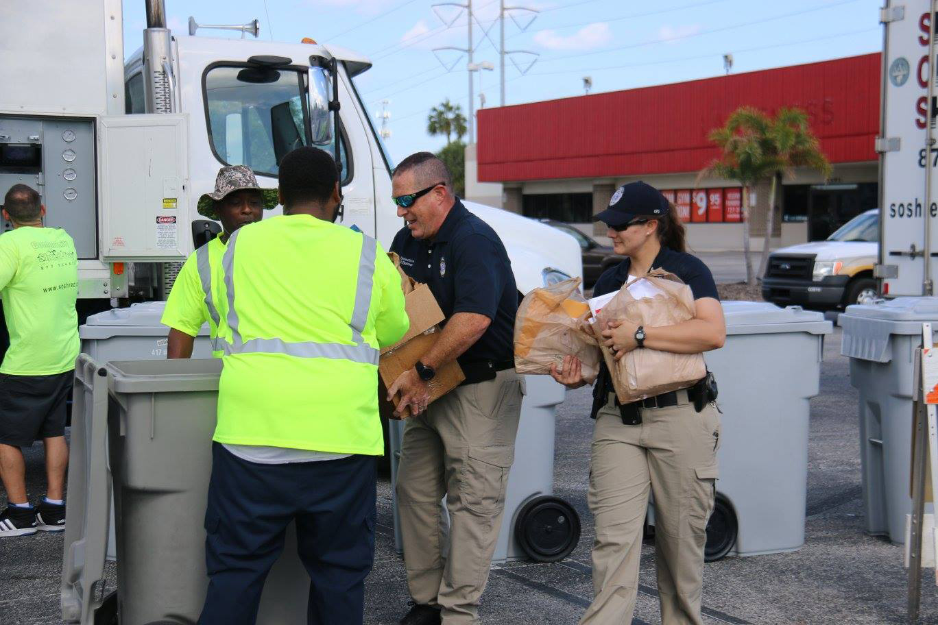Operation Shred, Clearwater, shredding, shred event, sensitive info, paper shred