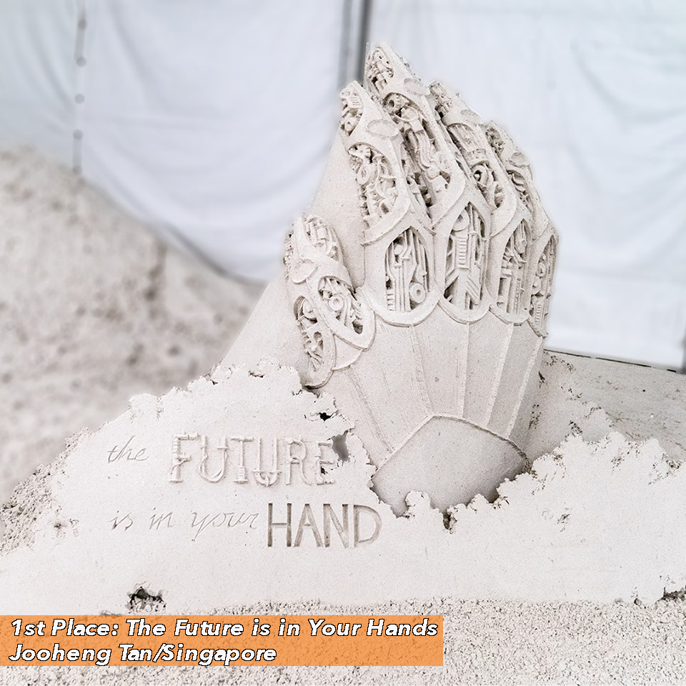 1st Place: The Future Is In Your Hands by Jooheng Tan from Singapore