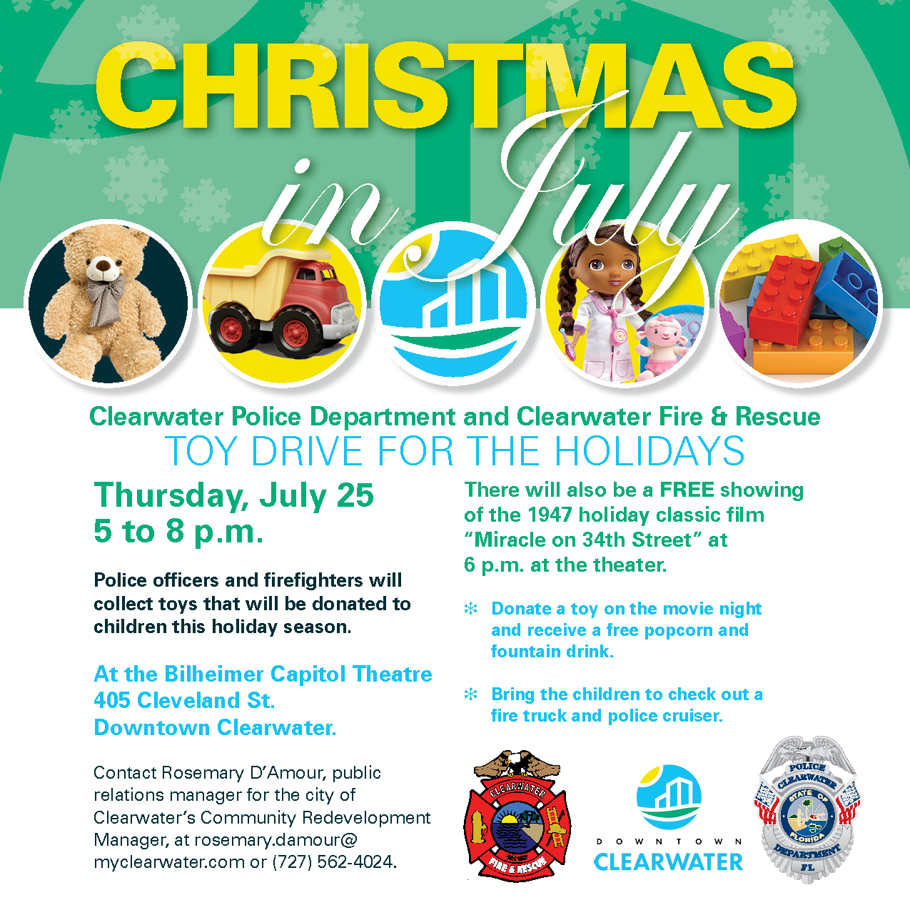Christmas In July Free Graphics.Christmas In July Free Holiday Movie Citywide Calendar
