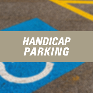Click here for Handicap Parking Information