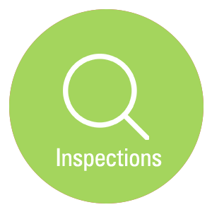Click here for inspections information