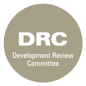 Click here for development review committee information