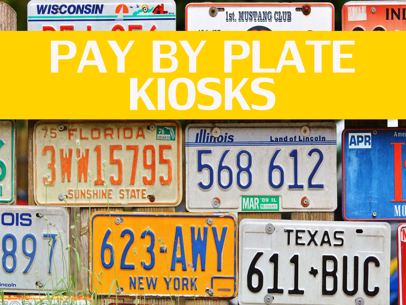 parking, pay by plate